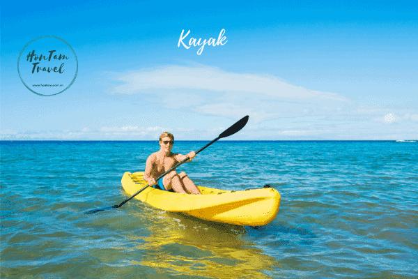 Chèo thuyền kayak hòn Tằm