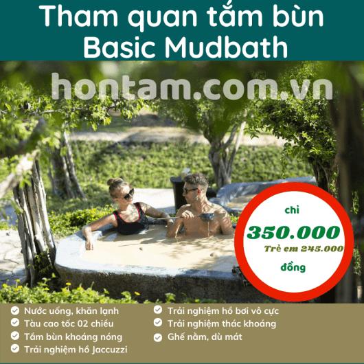 Tham quan tắm bùn Basic Mudbath